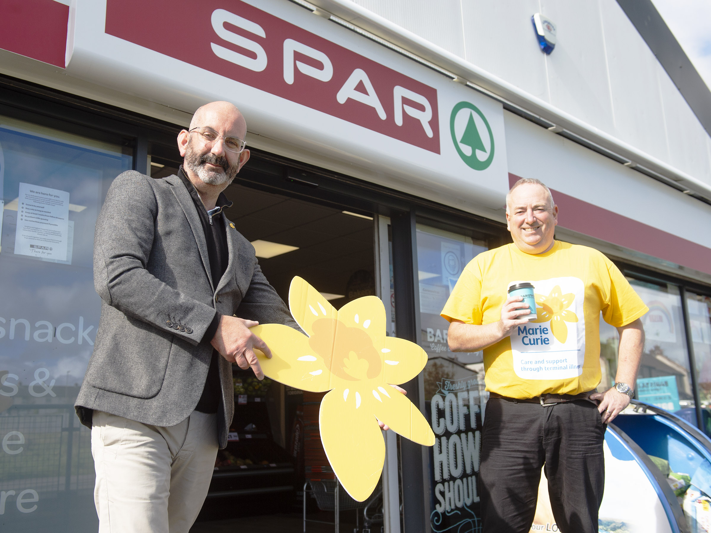 SPAR Craigyhill raises over £2,000 for Marie Curie