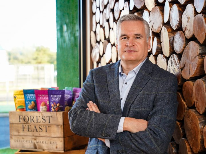Kestrel Food's Founder and Managing Director Michael Hall has been awarded an MBE