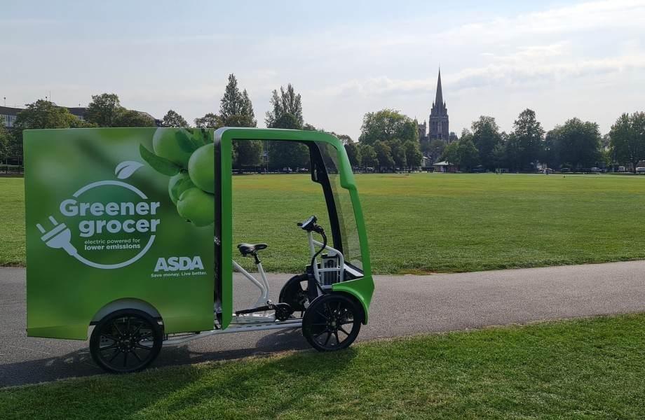 Foot to the Pedal – Asda trials new e-vehicle deliveries