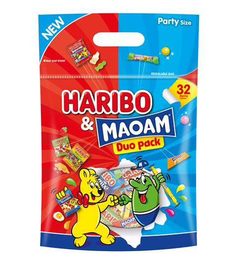 Haribo wrapped for Hygienic Halloween