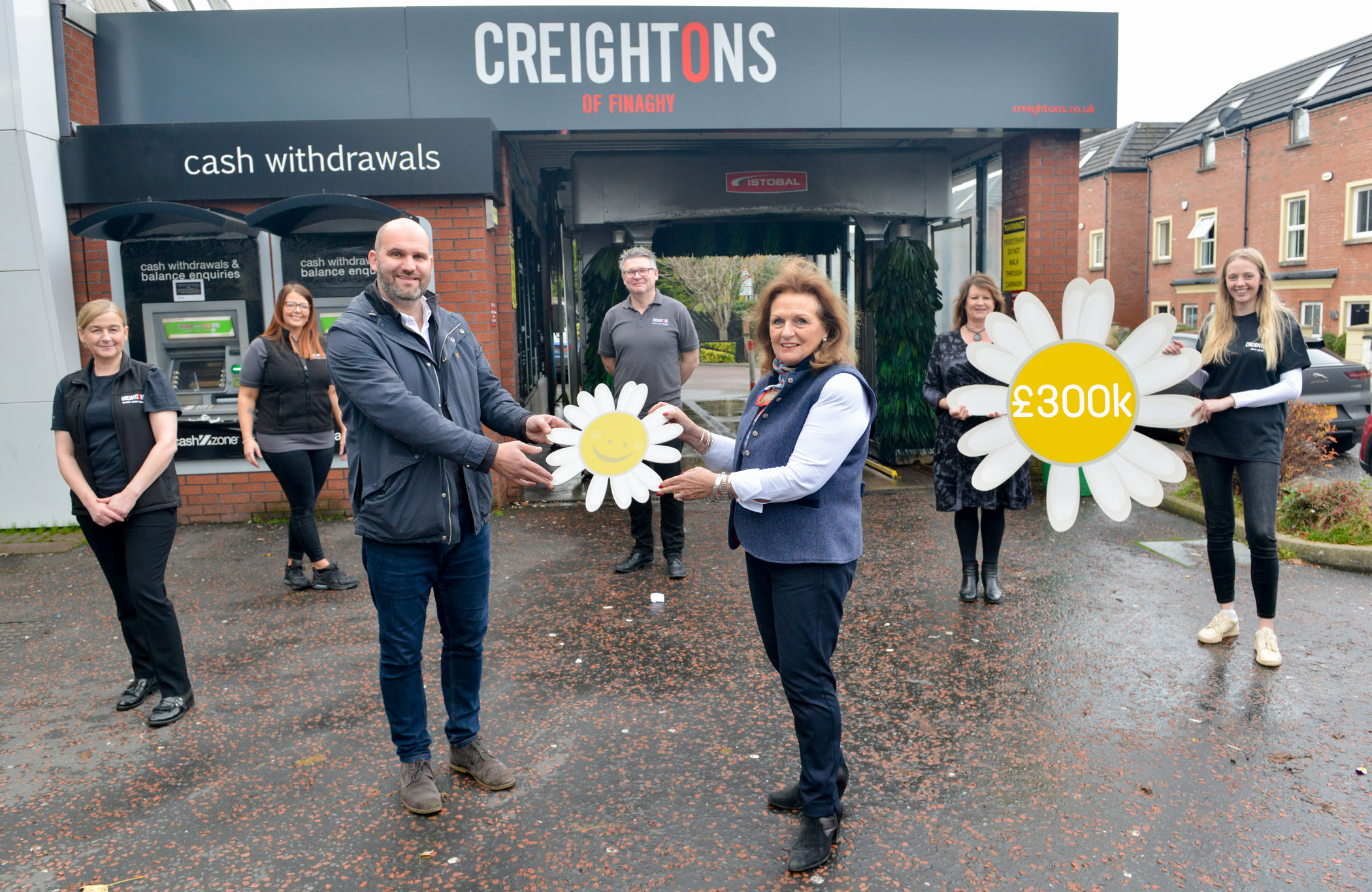 The CREIGHTON GROUP Hit £300K for Cancer Fund for Children