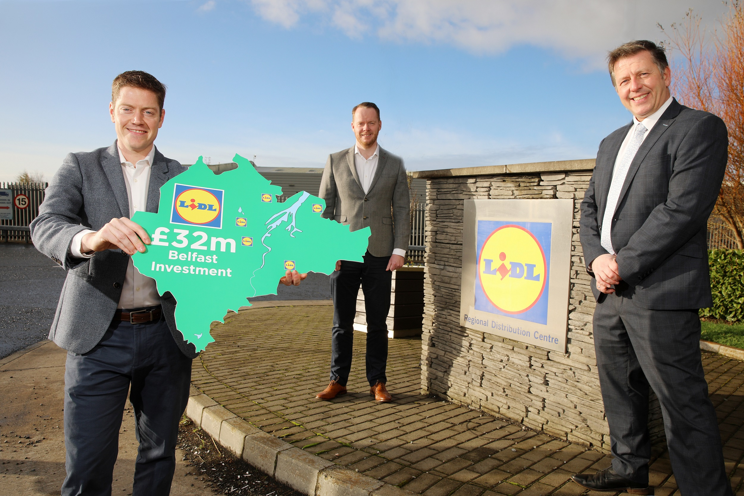Five new Lidl stores with £32m investment pledged