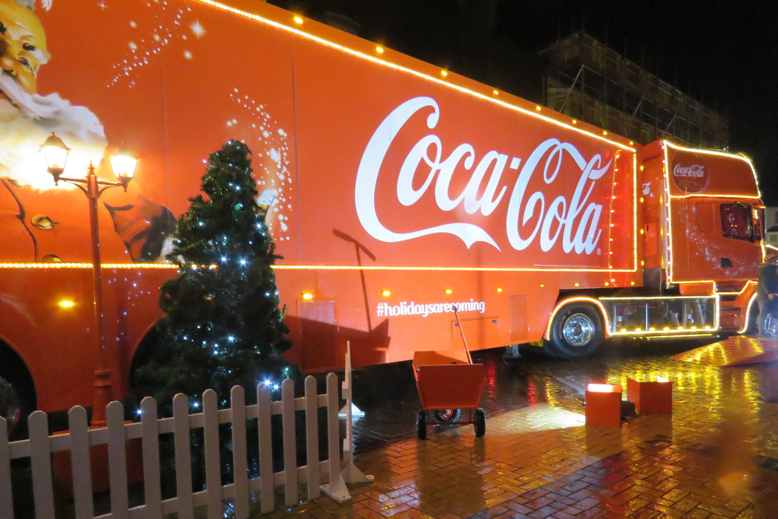 Christmas cheer dampened by Covid – No Coca-Cola Truck Tour this year