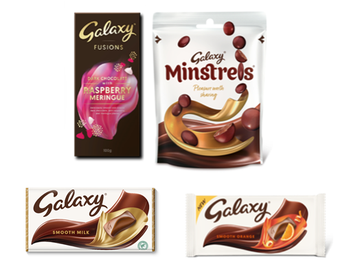 Galaxy's stylish new look for 2021 – as brand turns 60