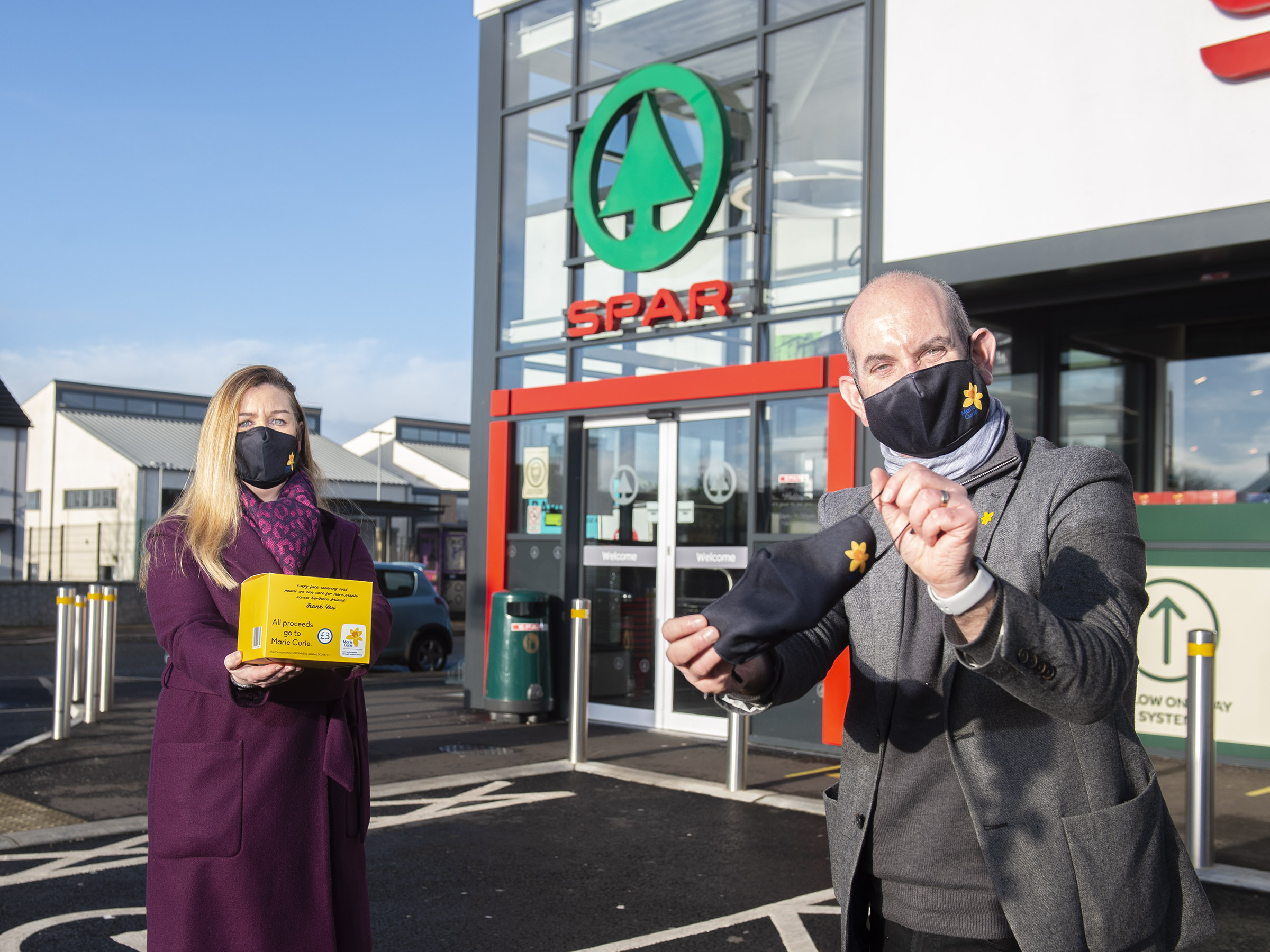 SPAR NI has communities covered in support of Marie Curie