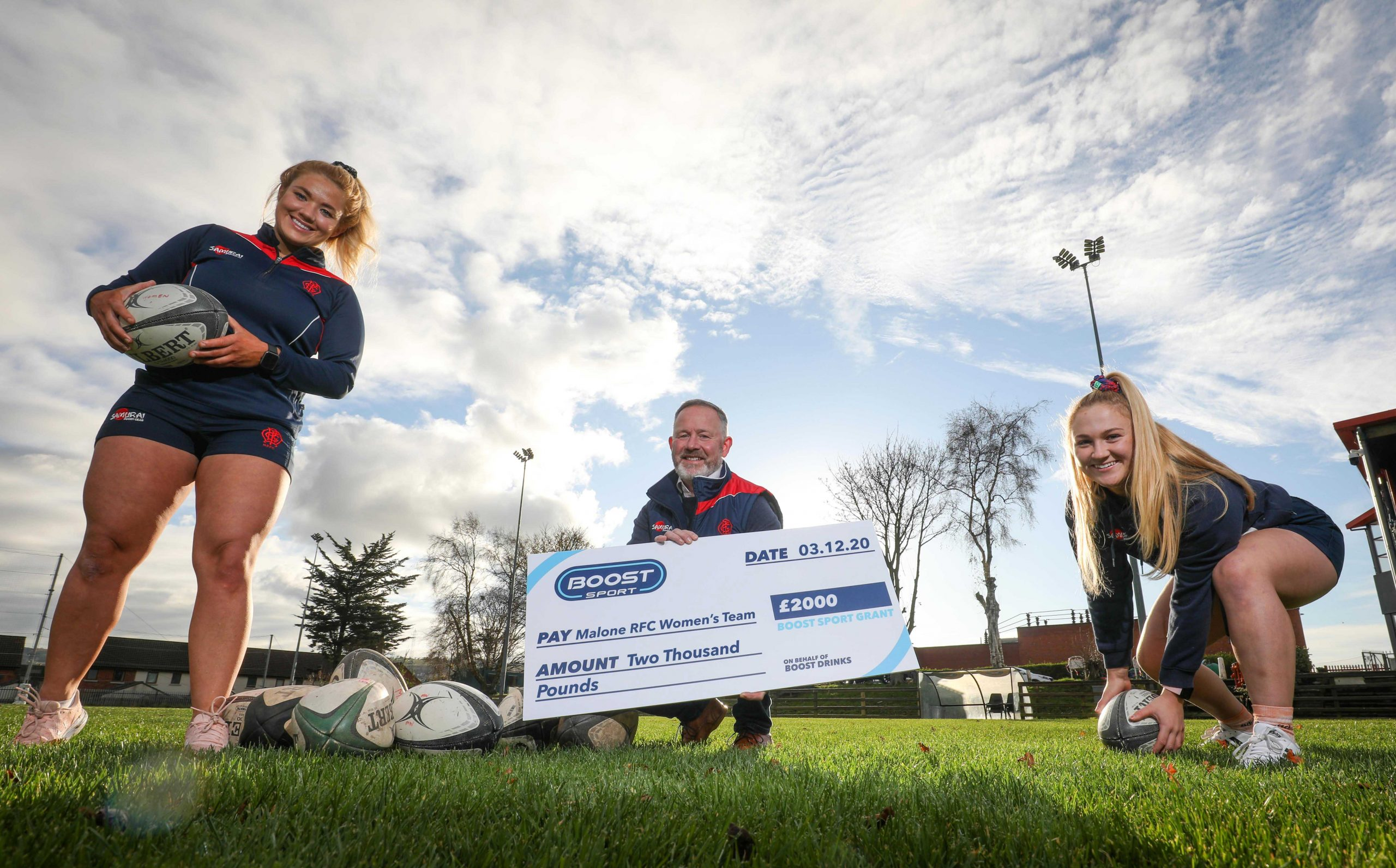 Seven local sports clubs receive a share of £5k thanks to Boost Sport