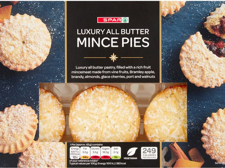 UK's best mince pies available in SPAR Northern Ireland stores