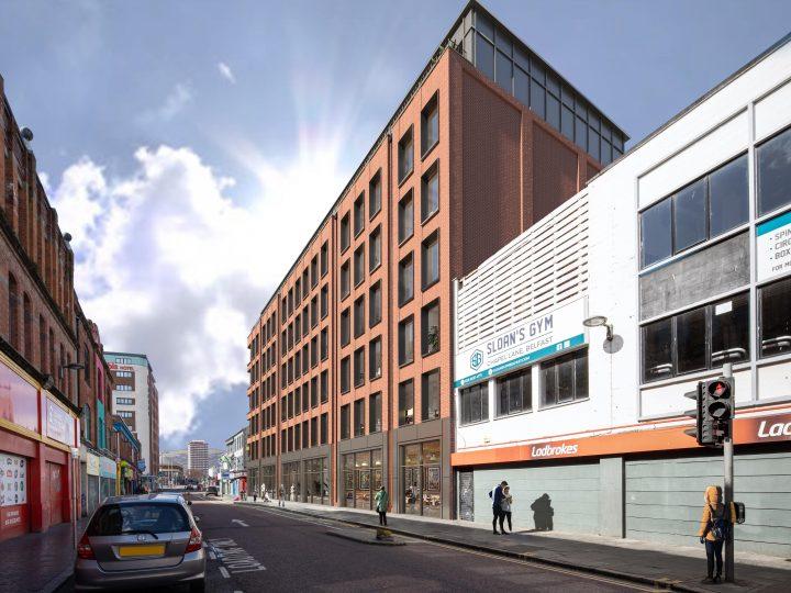 Redevelopment boost for Belfast's Castle Street Announced