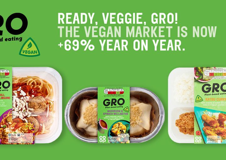 Nisa expands plant based offers in Veganuary
