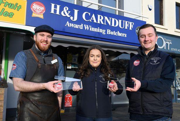 Congratulations to Newtownards butchers H&J Carnduff – named best in the UK