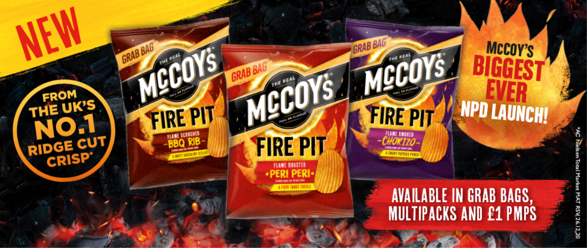 McCoy's Firepit – Major Marketing Campaign Underway