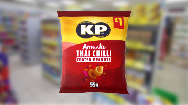 KP Snacks launches new aromatic Thai Chilli Coated Peanuts
