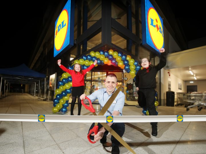 Lidl Northern Ireland opens store number 41 -at Belfast's Hillview Retail Park