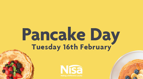 Nisa retailers have some flipping great deals for Pancake Day