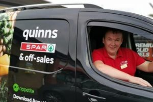 Quinn's Spar Group has an Appetite for Home Delivery