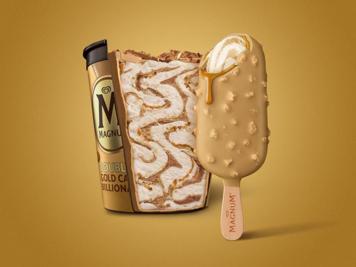 Double Gold Caramel Billionaire – the indulgent new launch from Magnum