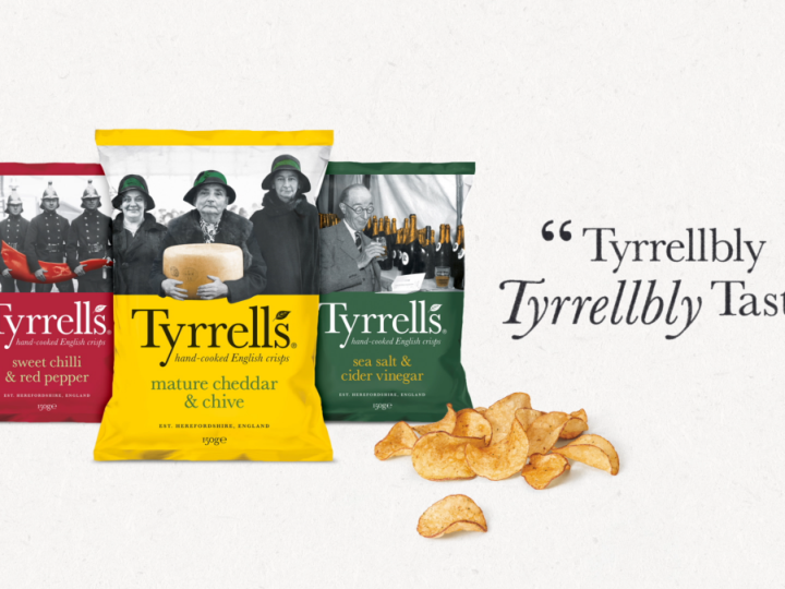 Tyrrells 'Tyrrellbly Tasty' campaign back on TV – £1m investment over Easter