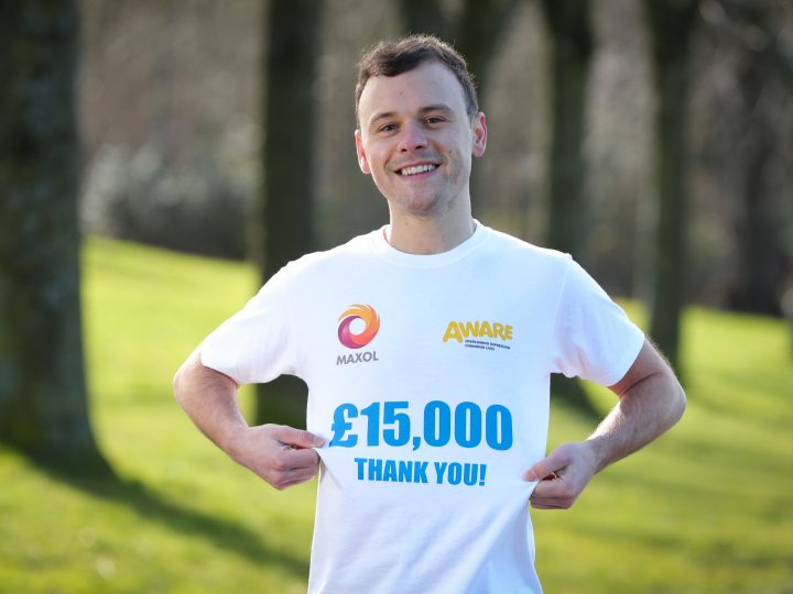 Maxol thanks customers as £15,000 is raised for Charity Partner AWARE