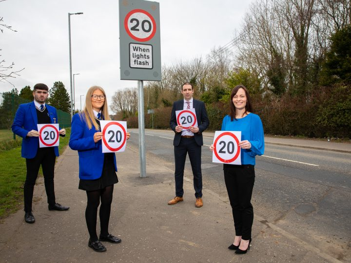 Retailers located near schools take note – new part time 20mph speed limit coming