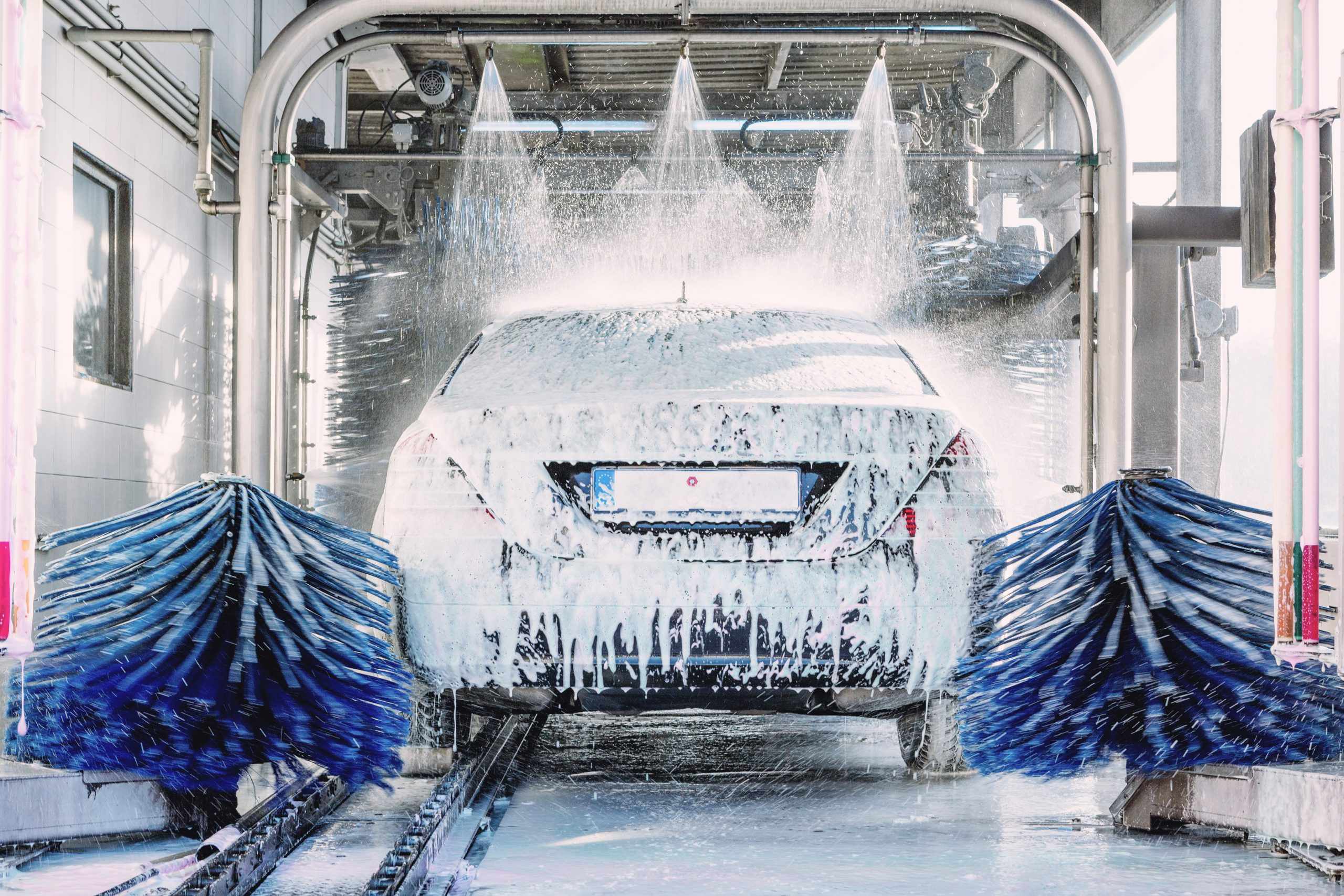 Automated car washes allowed to re-open from 12th April