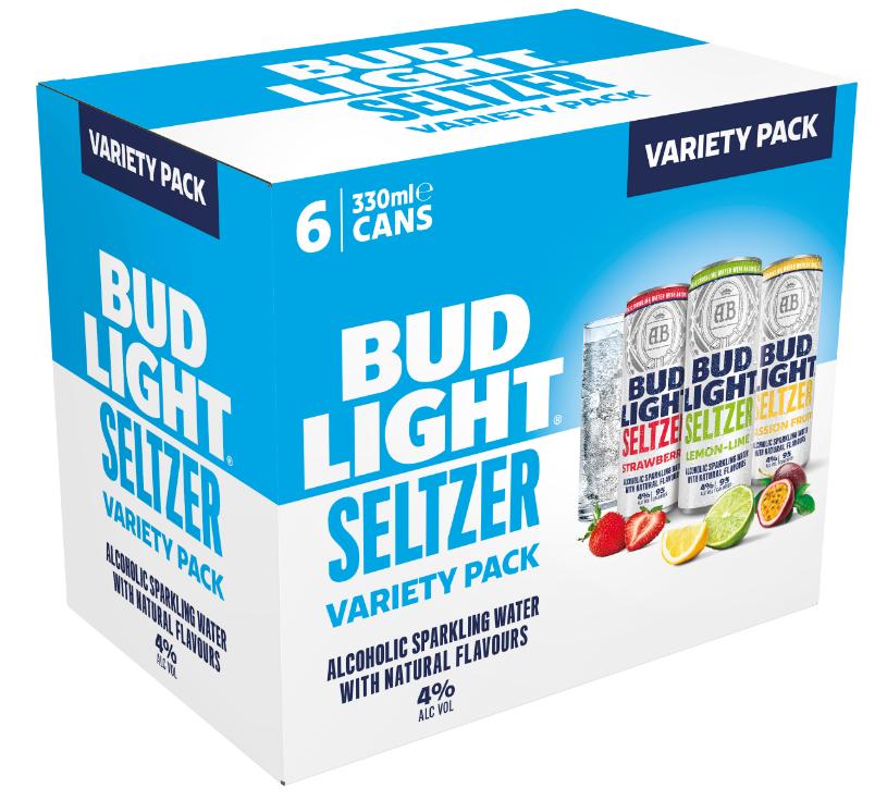 Budweiser Brewing Group UK&I launches Bud Light Seltzer