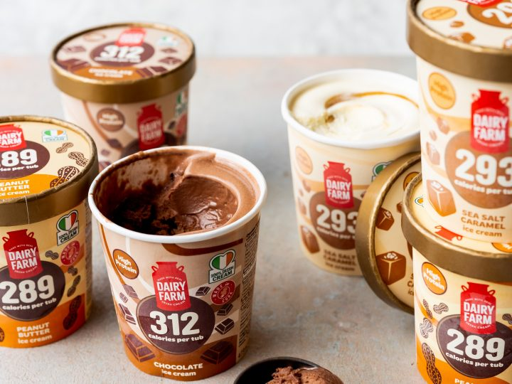 Lidl Northern Ireland launched high protein, low calorie range of ice cream and yogurts