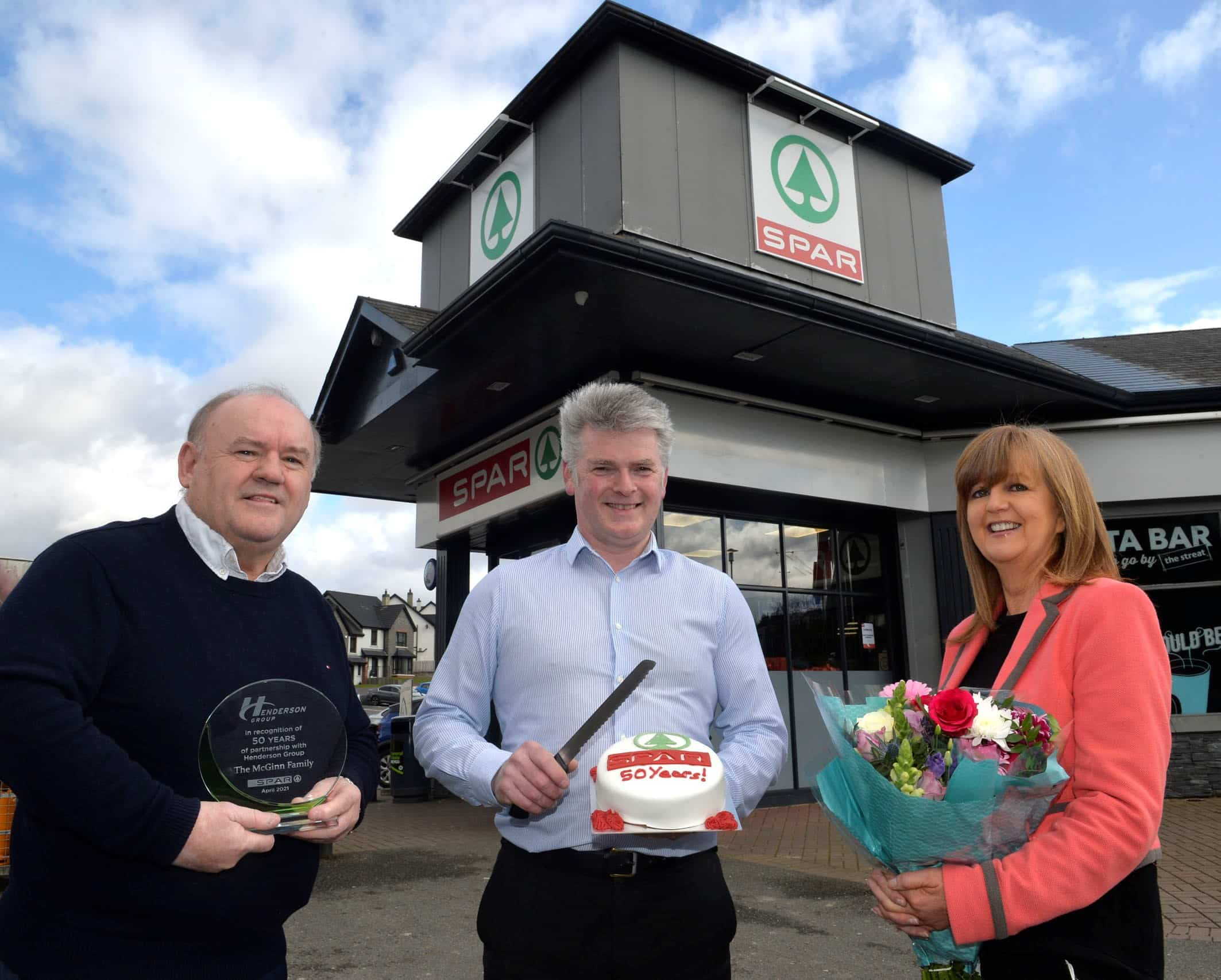 McGinn's SPAR Killyclogher completes refurb while celebrating 60 years in the community