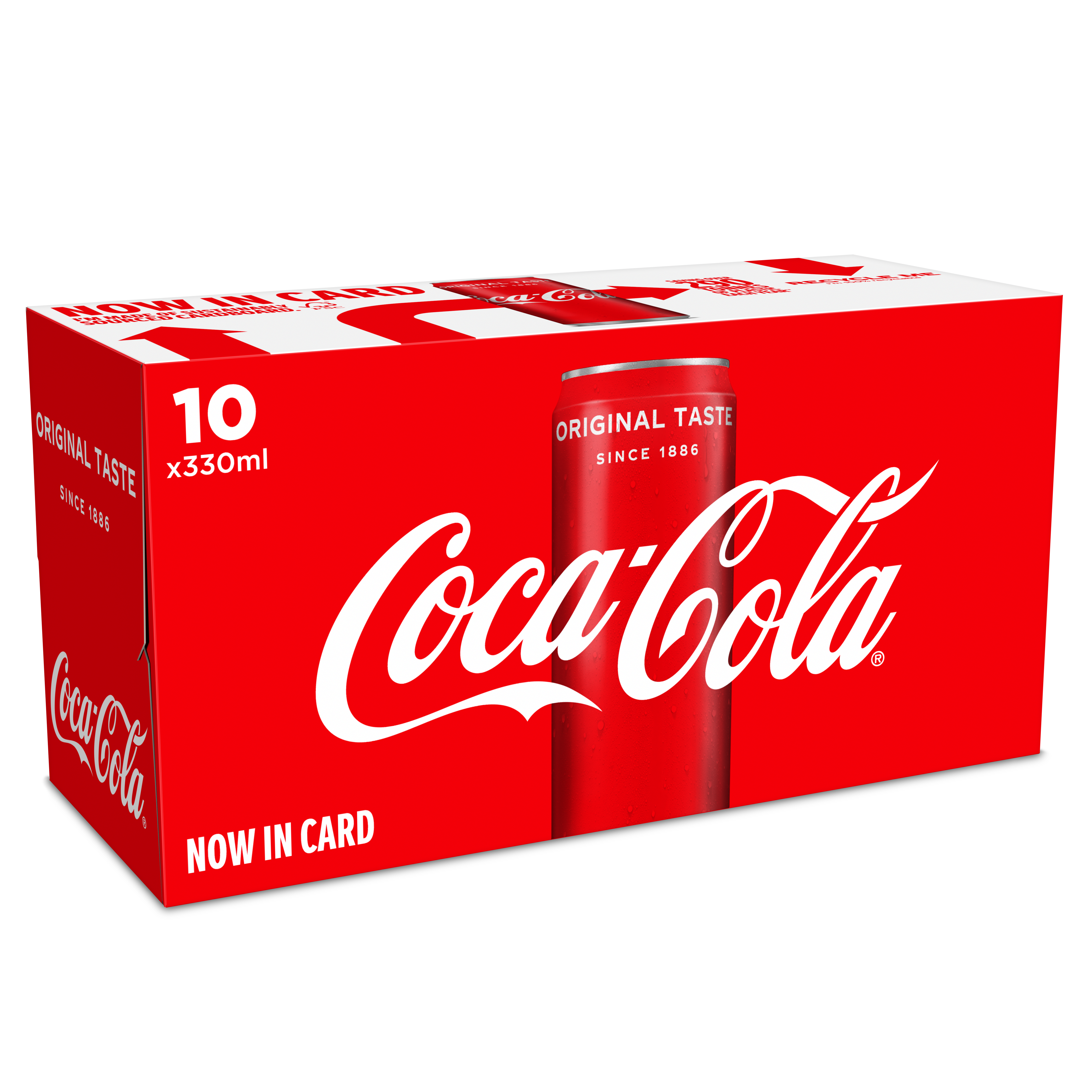Coca-Cola moves all multi-pack cans to cardboard packaging