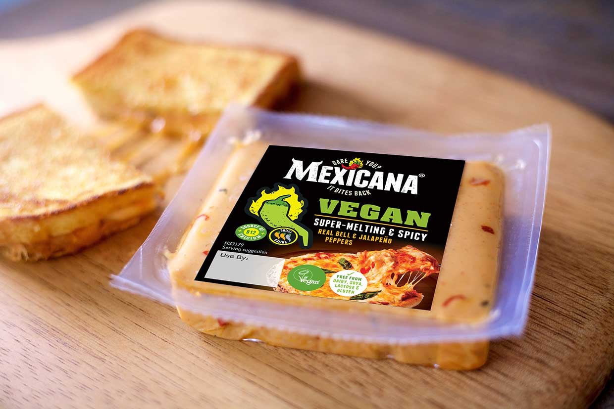 Mexicana® Vegan becomes first plant-based cheeze to feature in Tesco's Grab and Go Delis