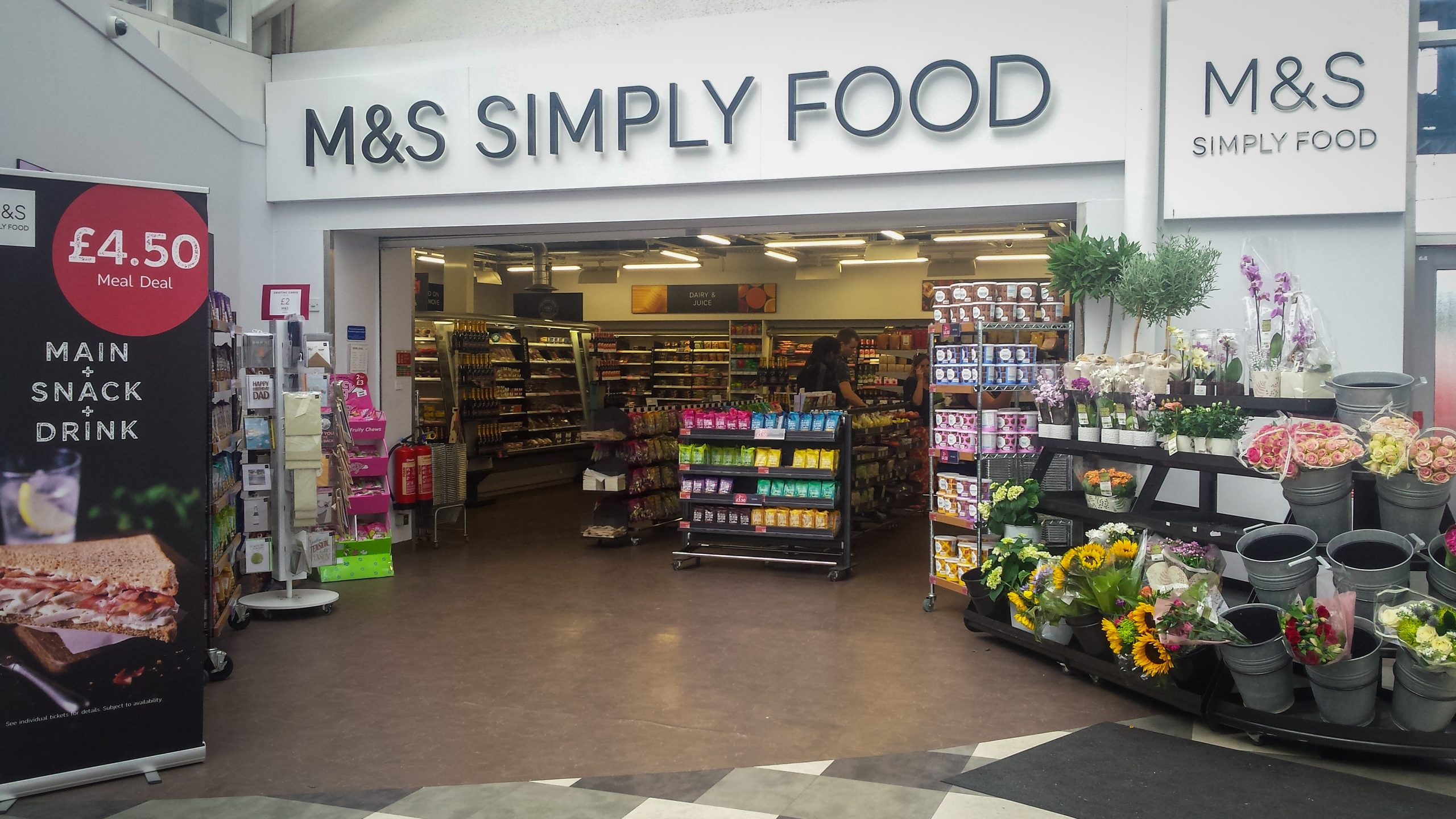 M&S share plans for re-opening