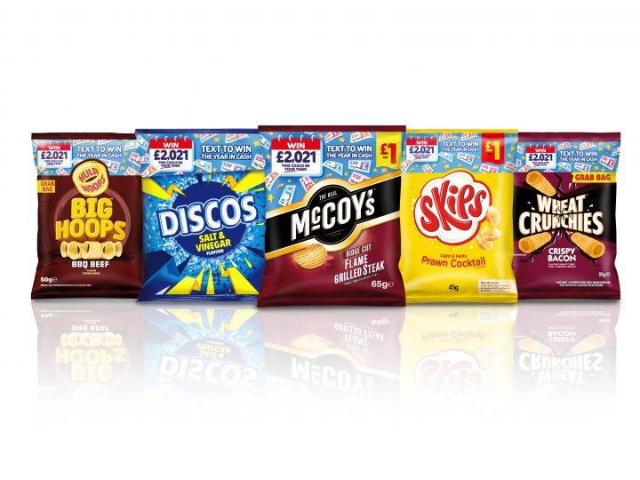 KP Snacks launch new cross-brand promotion – Win £2021