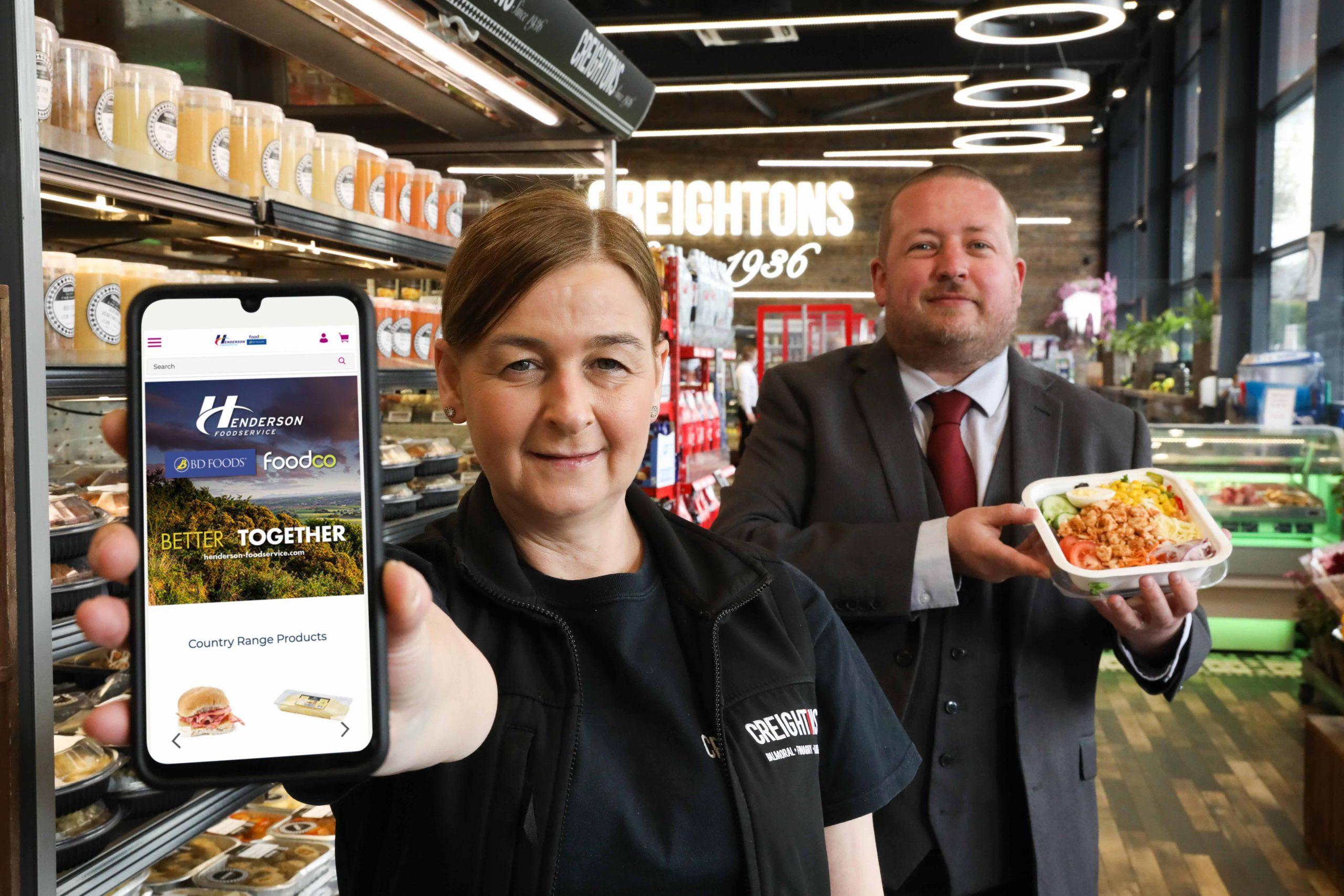 Global e-commerce award for Henderson Foodservice