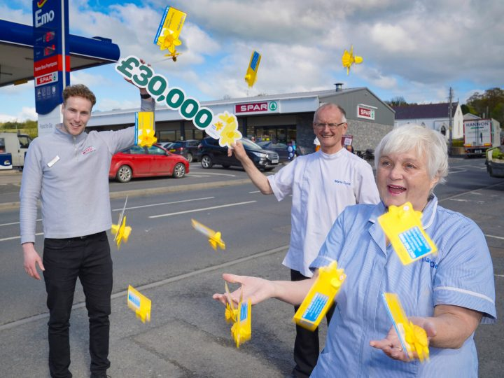 Thanks a Bunch! Shoppers give a whole lot more during vital Great Daffodil Appeal