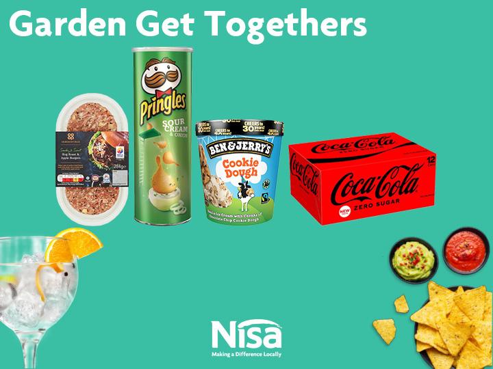 Garden Get-Togethers – Nisa's summer deals