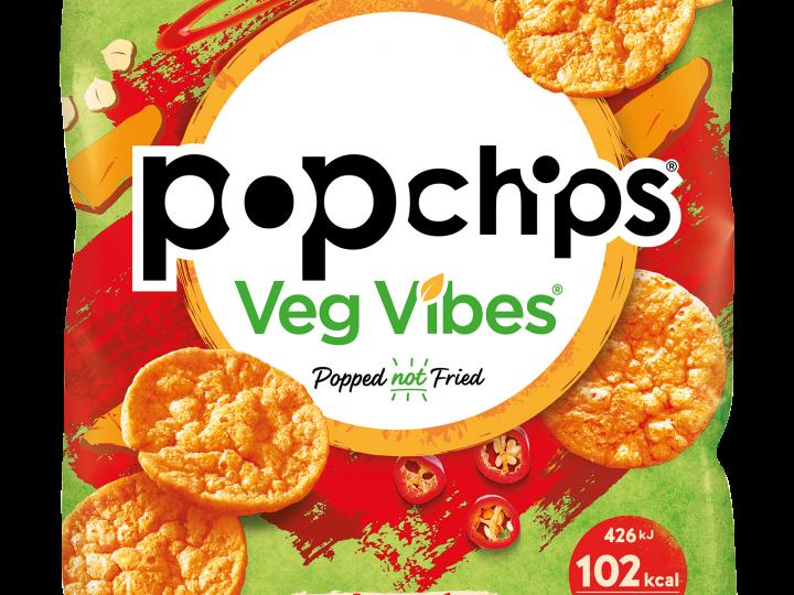 KP Snacks launches brand new range – popchips Veg Vibes