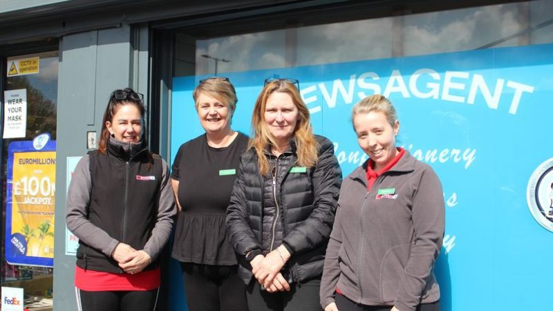 Hamilton's Newsagents in Cregagh hits the 35 year mark