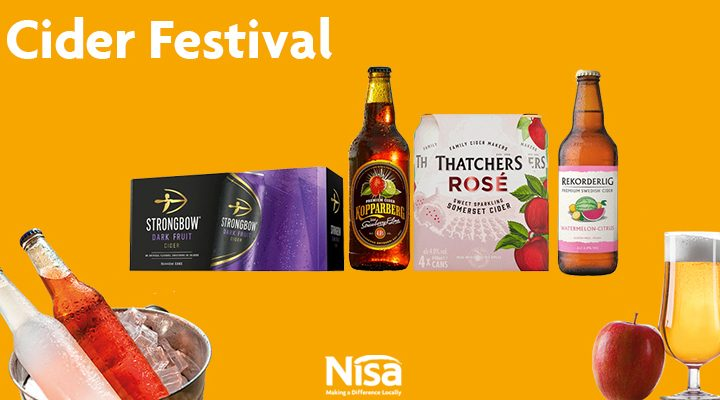 Cider with Nisa – Summer promotions