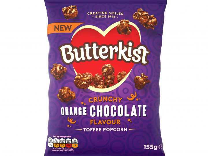 Butterkist Expands Range with new Chocolate Orange flavour
