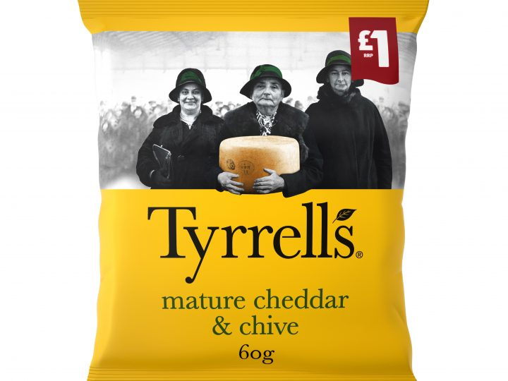 KP Snacks extends £1 PMP range with Tyrells
