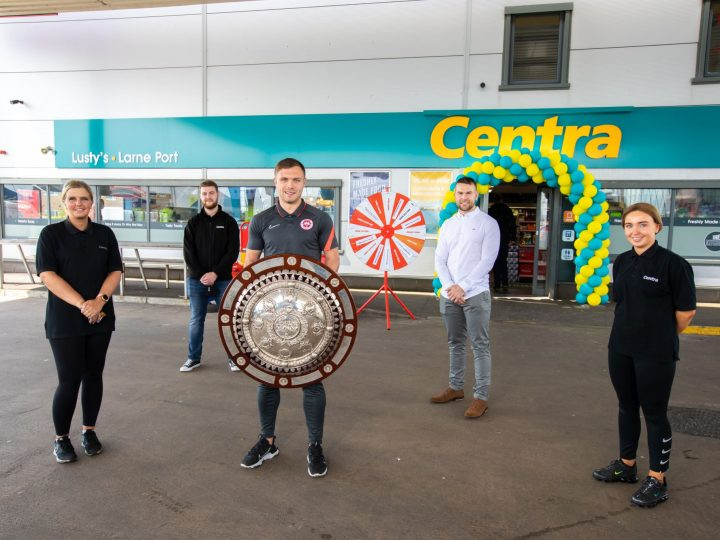 Lusty Family Open New Centra Store at Larne Port