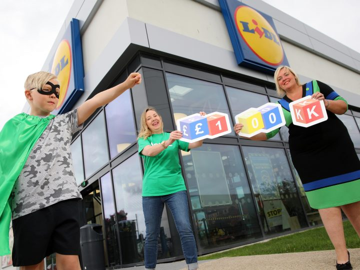 Lidl links with charity partner NSPCC for £100,000 boost for Childhood Day 2021