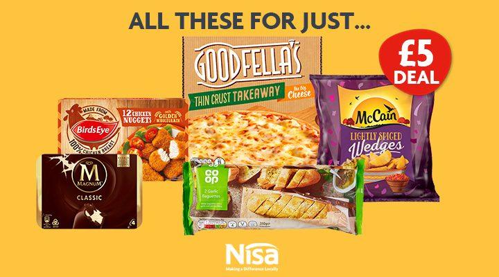 Nisa's £5 freezer-filler returns for Summer