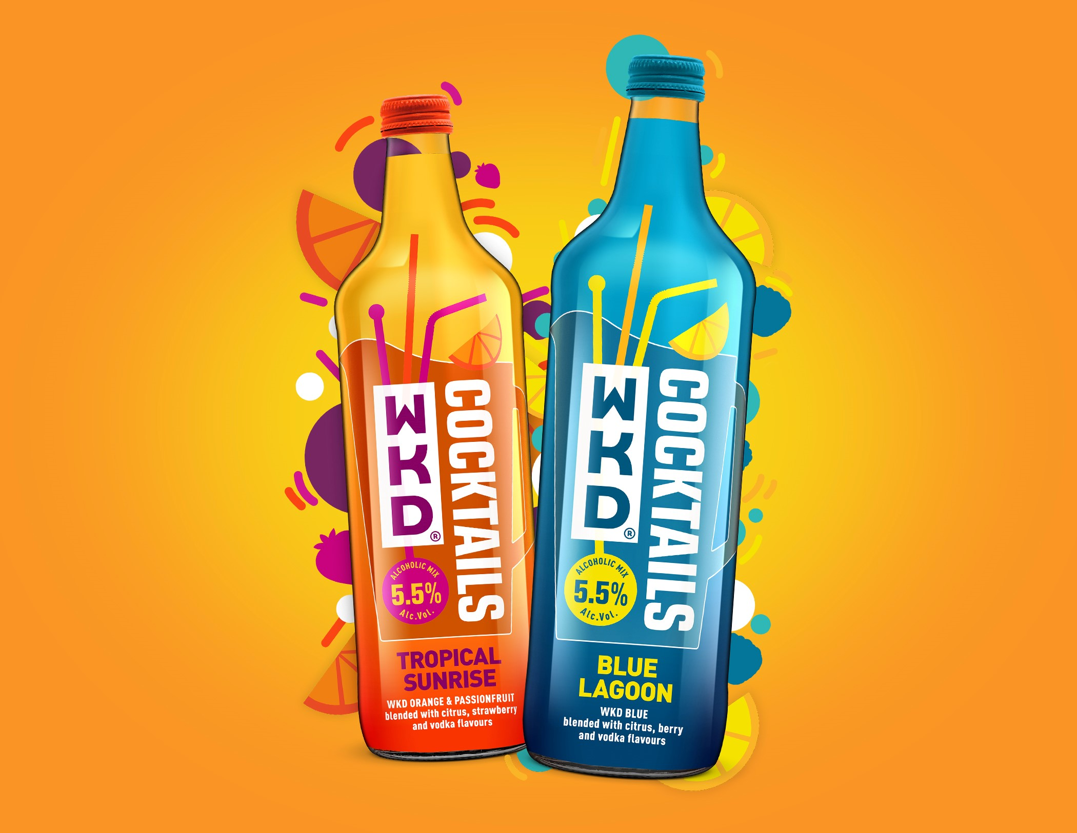 New WKD Cocktails – All the fun, none of the 'faff'