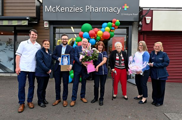 Fifty years service for Ardoyne pharmacy assistant celebrated