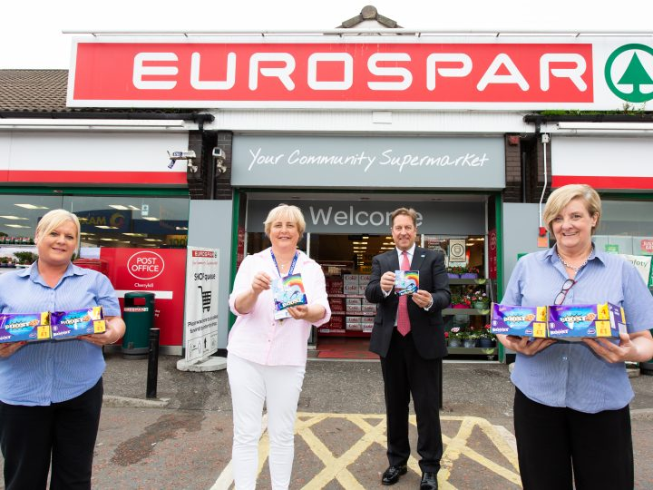 Health Trust workers get a Boost from local supermarket and chaplain's 'I See You' initiative