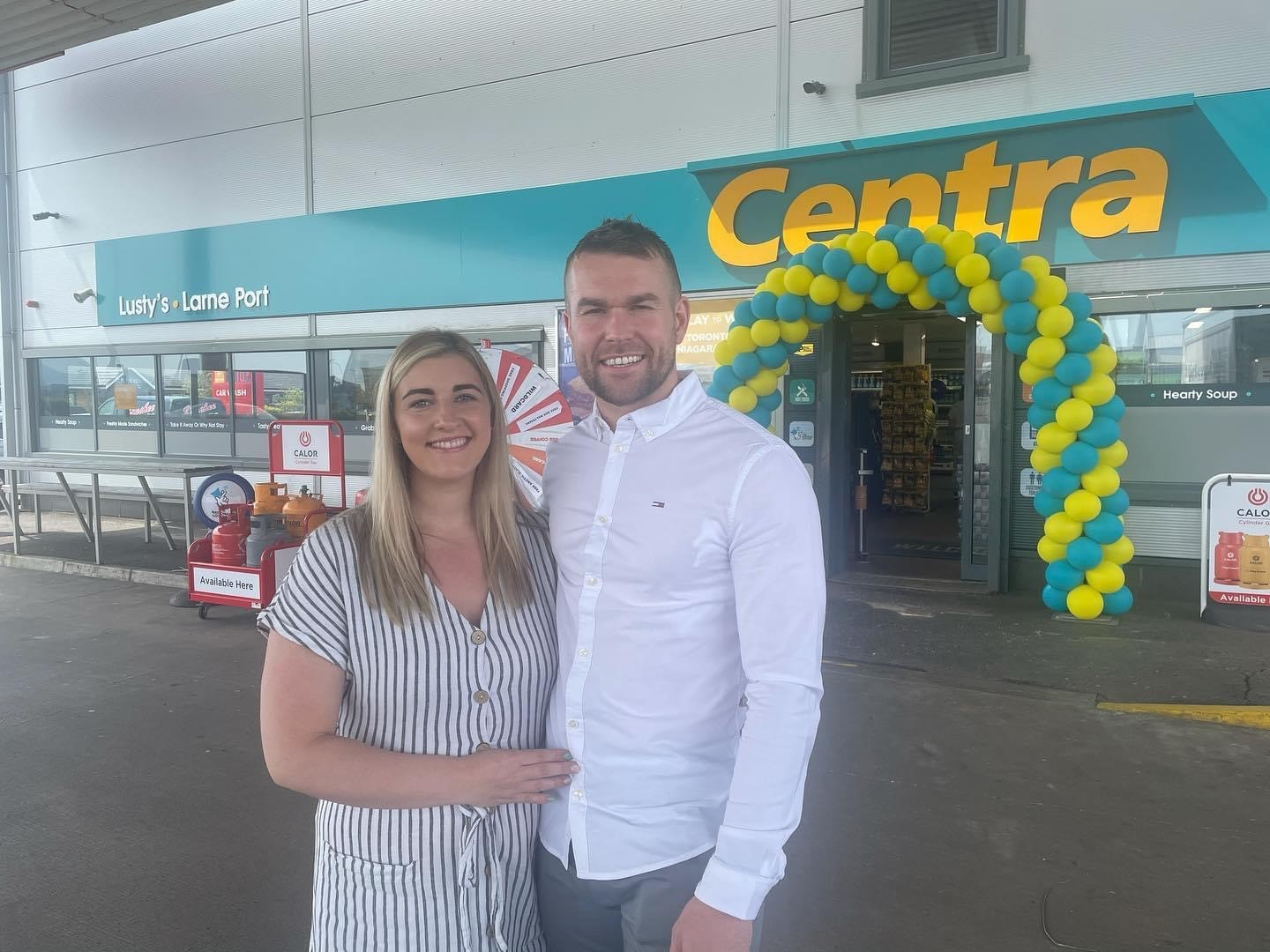 Brand new Centra at the Port of Larne – Second Store for the Lusty Family