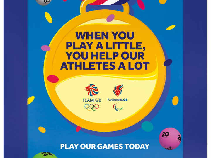 Camelot launches huge new national lottery campaign to highlight Team GB support