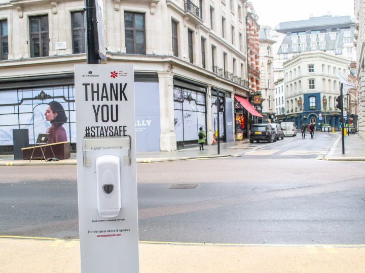 Rollout public hand sanitisers across town centres and high streets, says Retail NI