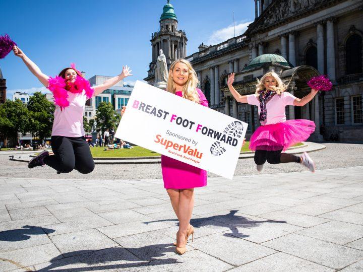 SuperValu sponsor 'Put Your Breast Foot Forward' for Action Cancer!