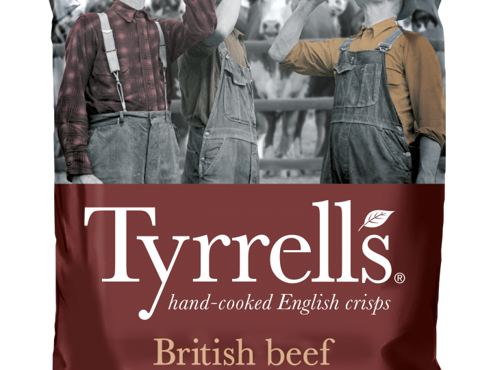 Tyrells launch new 'Tyrellbly Tasty' British Beef and Ale Flavour